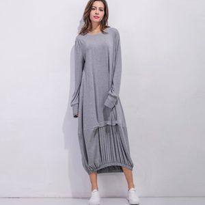 d27af05f813 Robe longue grise hiver – Modèles populaires de robes