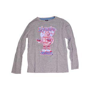 f4c948d4921f7 T-shirt manches longues enfant garçon KIABI 12 ans violet hiver ...
