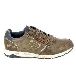 BATEAUX Chaussure de ville MUSTANG Sneakers 4106306 Marron