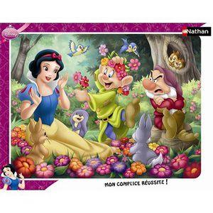 PUZZLE Puzzle 35 pièces - Blanche-Neige en fleur