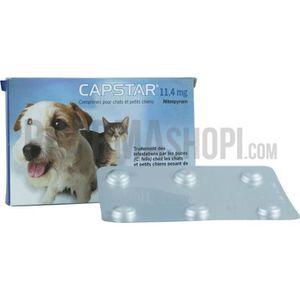COMPLÉMENT ALIMENTAIRE Capstar 11,4 mg comprimé pour chats et petit ch...