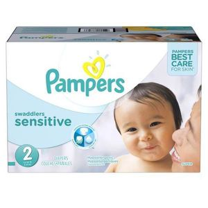 COUCHE 240 Couches Pampers New Baby Sensitive taille 2