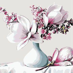 PEINTURE AU NUMÉRO Peinture par Numéro Kit, DIY Peinture à l'huile De