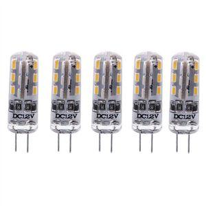 AMPOULE - LED 5pcs à économie d'énergie G4 DC 12V 1.5W 24 3014 a