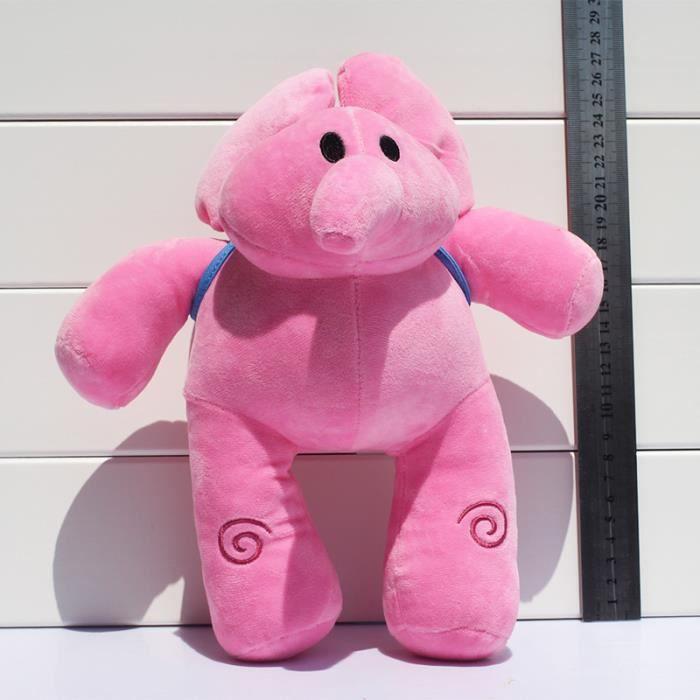 1 pc Pocoyo Peluche en Peluche Elly Stuffed  jouets 27 cm environ