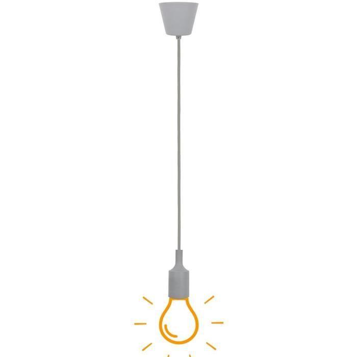 A Luminaire Cuisine Salle Chambre Lampe Moderne Suspension Manger Pour Enfant Couleur Douille Silicone E27 Restaurant Suspendu Gris OPkNnwX80Z