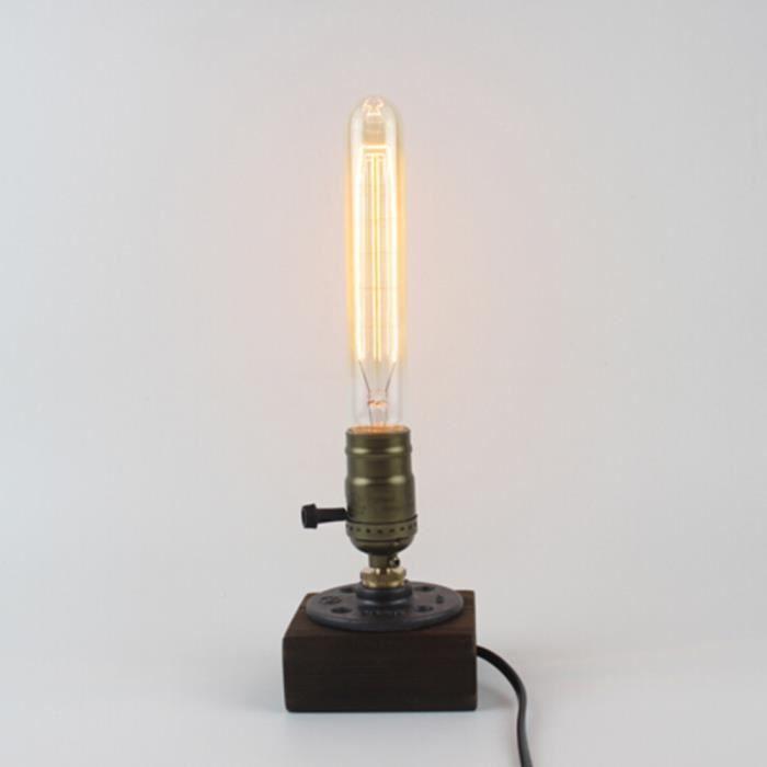 40w Ampoule Vintage Antique Style Verre Light E27 Lampe De Base Pour