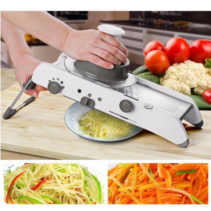 réglable mandoline trancheuse manuel légumes cutter de pommes de