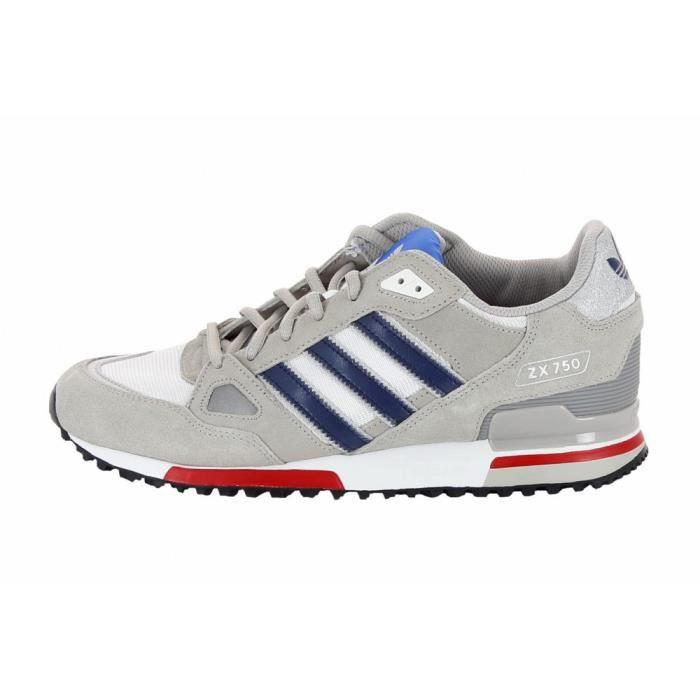 adidas zx 750 gris bleu