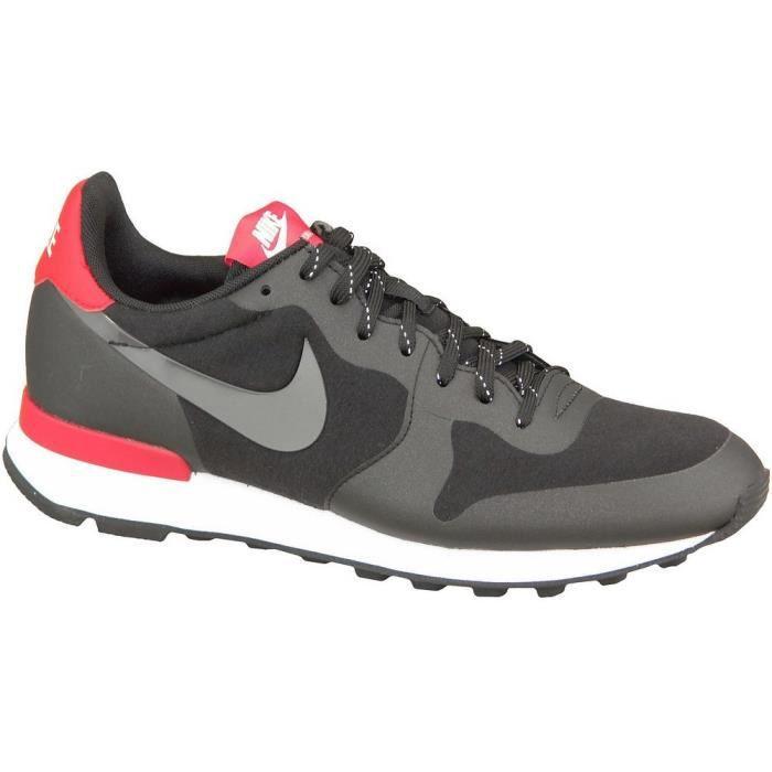 new style 4198a b51ac Nike Internationalist Fleece Retro Women Chauss... Noir Noir - Achat ...