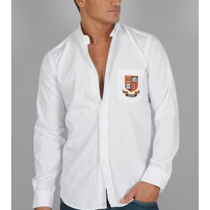 Chemise Chemise Blanche Gant Homme Blanche nm8w0NvO