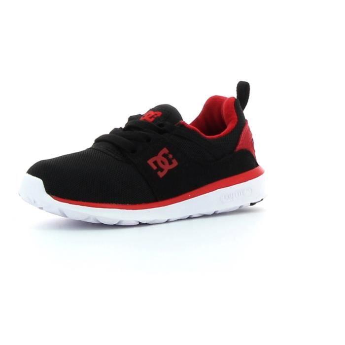 Chaussures de skate DC shoes Heathrow Noir - Achat   Vente basket ... 92c20b480369