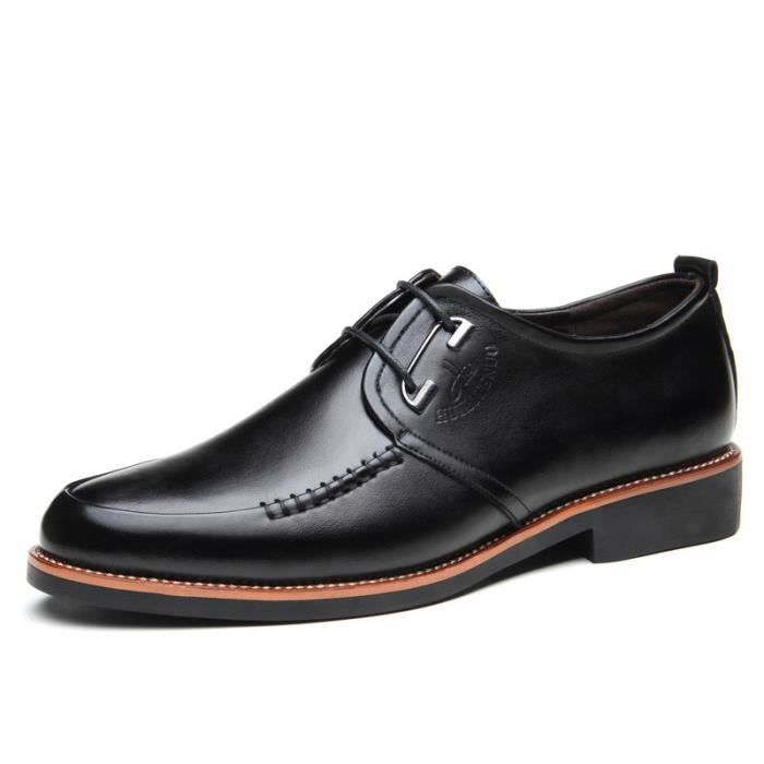 Chaussure Homme Mode Casual Chaussures en cuir pour homme Nouveautés Automne Chaussures en cuir R1UbnE4pU
