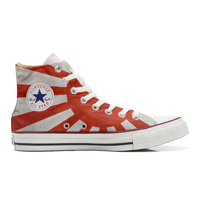 6b63aa89d28 Converse All Star Personnalisé et Imprimés Hi chaussures coutume ...