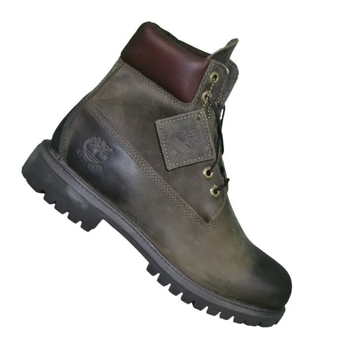Chaussures Boots - Timberland - 6 In Premium 6063r - Olive