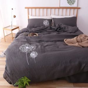 linge de lit en lin lave achat vente linge de lit en. Black Bedroom Furniture Sets. Home Design Ideas