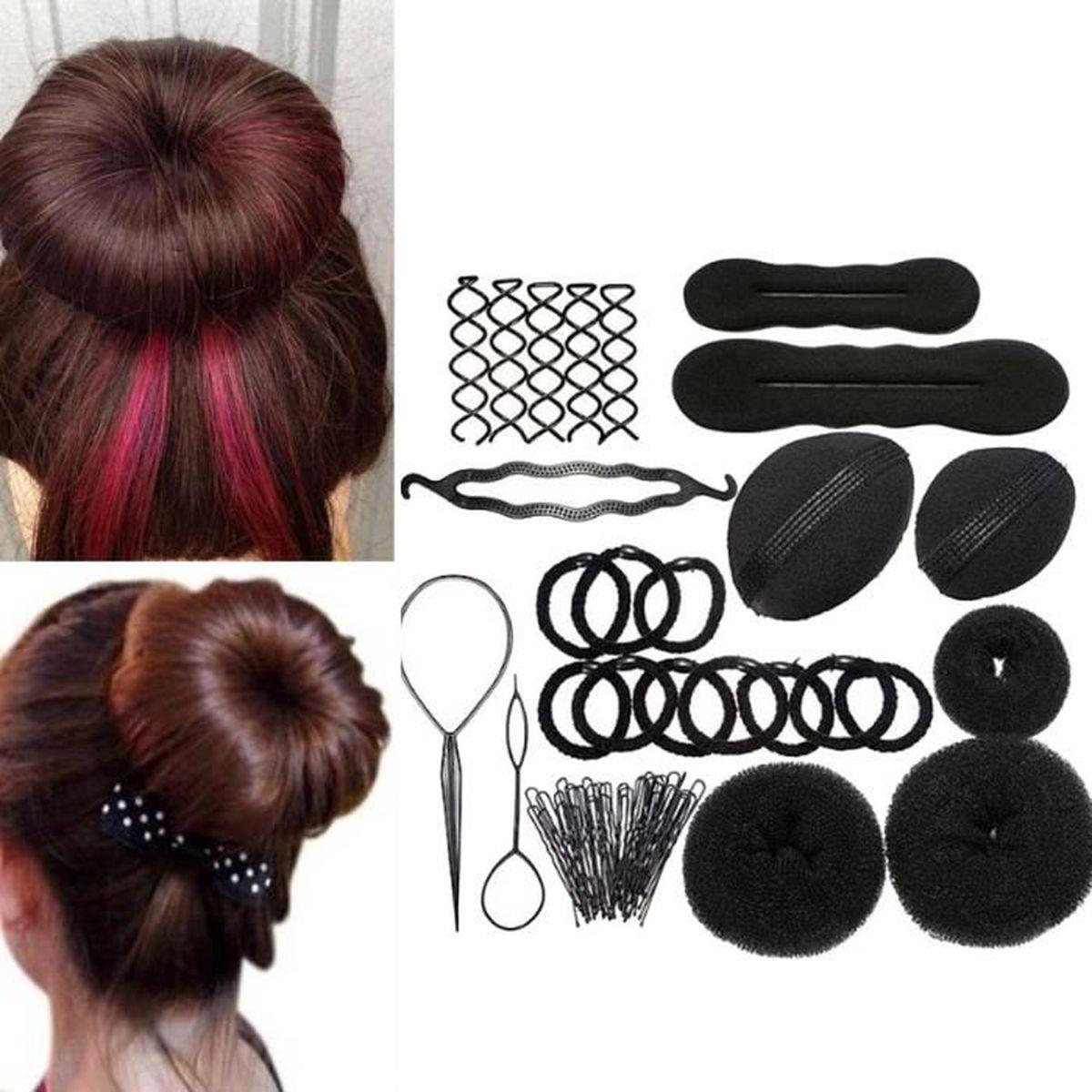 Accessoire cheveux chignon - Achat / Vente pas cher