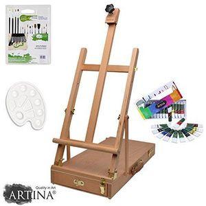 KIT PEINTURE Artina kit d'initiation  peinture Acrylique - Pour
