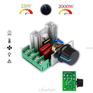 PACK CONNECTIQUE  PWM Contrôleur moteur AC contrôle Vitesse 2000 W T
