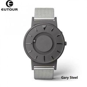 MONTRE Montres Pour Hommes gris steel Montres à quartz Eu