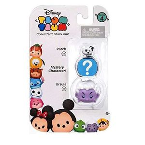FIGURINE - PERSONNAGE Disney Movie Series 4 (Patch, Ursula & Mystery Cha