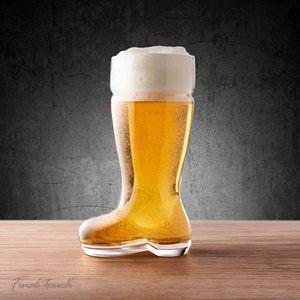 Verre à bière - Cidre Botte à Bière Chope Verre à Bière Géant 1 litre