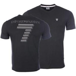T-SHIRT EA7 EMPORIO ARMANI T-shirt Homme  - Slim - Col ron