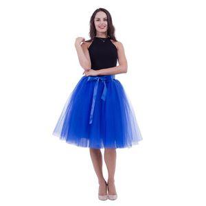 Femme Pas Cher Jupe Achat Bleu Tulle Vente Tlc1KJF3