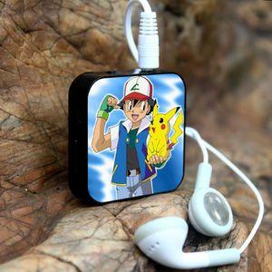 MP3 ENFANT 1PCS  Mini Cartoon lecteur MP3 avec écouteurs + US