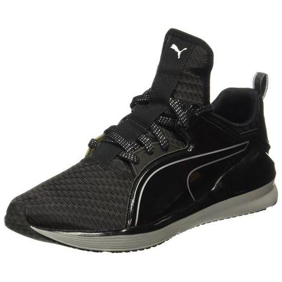 Puma chaussures d'entraînement multisports métallisées basses pour femmes TPC2L Taille-36 Noir Noir - Achat / Vente chaussures multisport