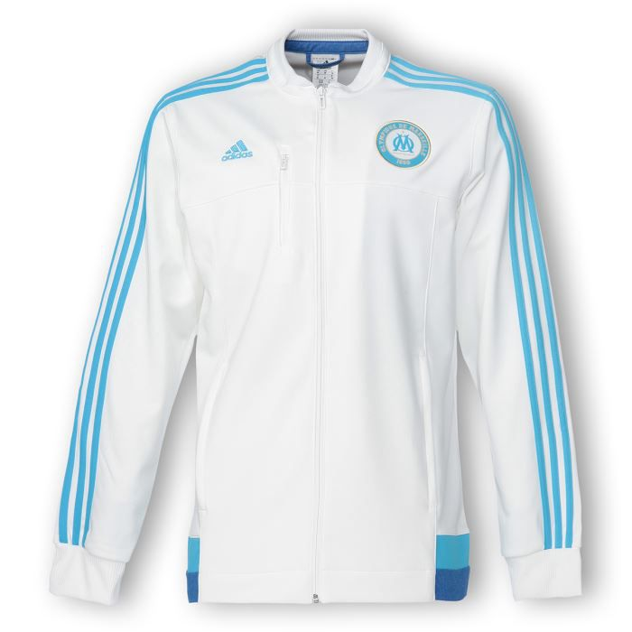 Veste adidas blanc et bleu