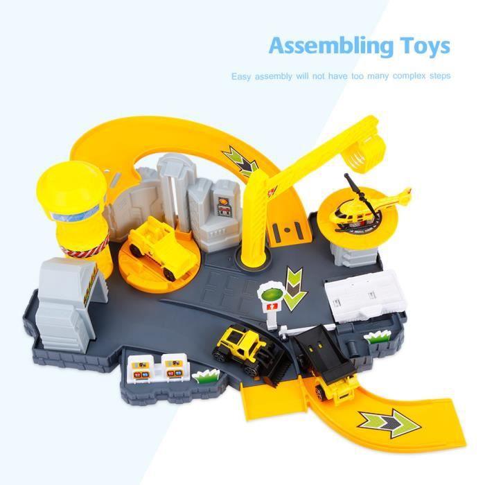 Cadeaux Basculant Piste Les Miniature Avec Educatif Véhicule Pour Circuit Construction Enfants1 De Jouet Du Ingénierie Course OukTwPZXi