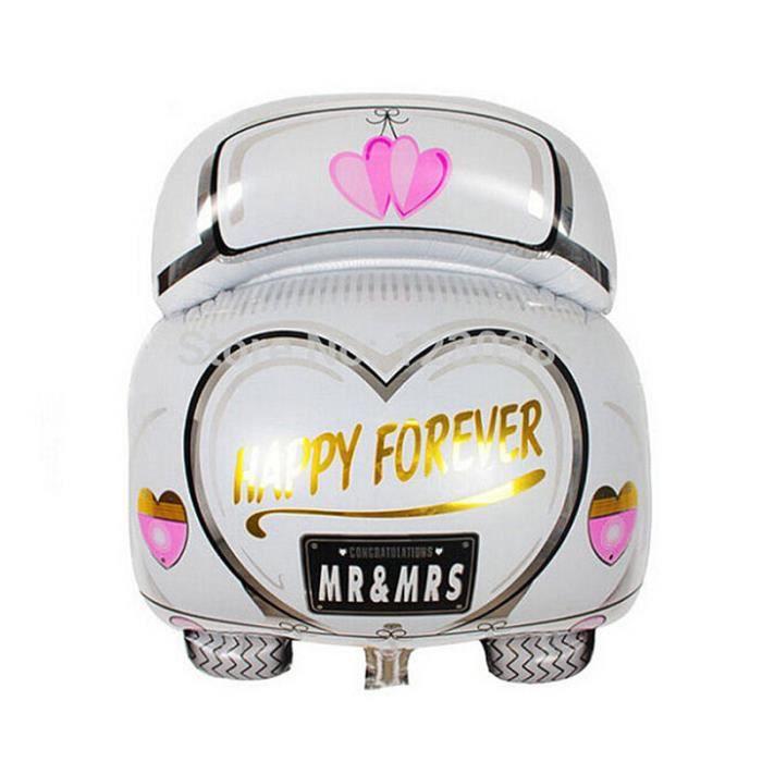 Voiture de mariage de dessin anim ballons en aluminium d cor de ballon de mariage achat - Dessin voiture mariage ...