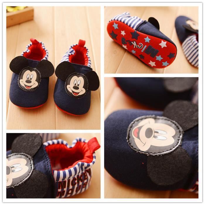 Chaussures premiers pasen coton doux Disney Minnie - 18-24 mois Xl2sKe