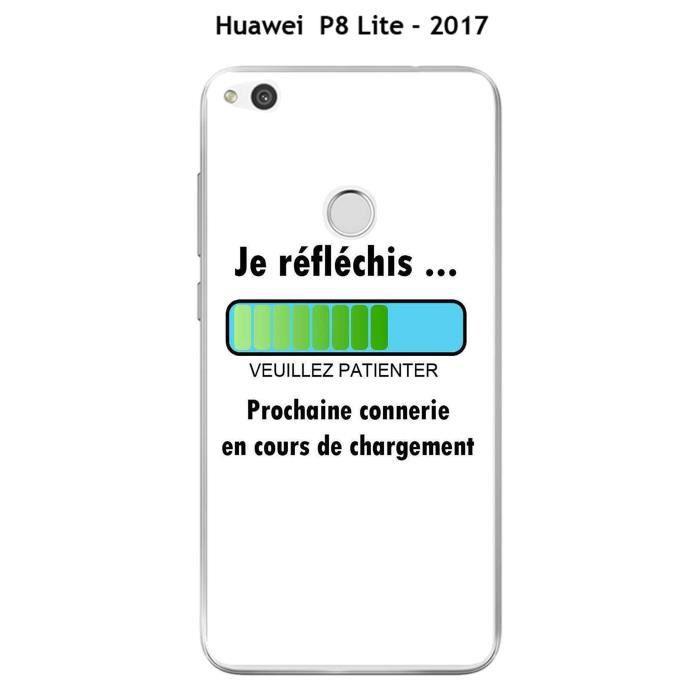 coque huawei p8 lite 2017 je t'aime