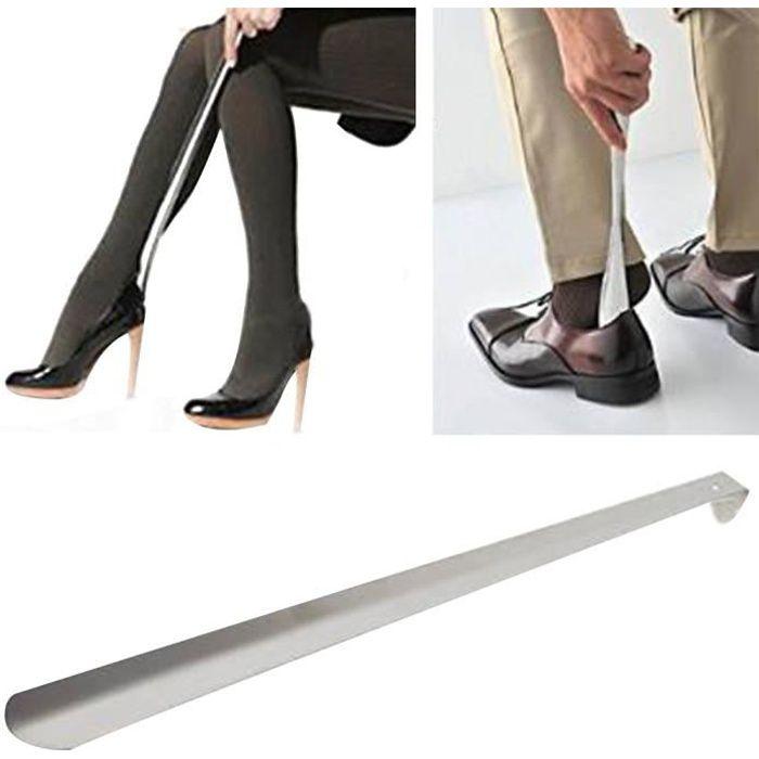 CHAUSSE-PIED chausse-pied en métal, 58 cm, acier inoxydable, tr
