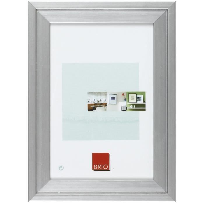 CADRE PHOTO Cadre photo Chronos alu 40x50 cm - Brio, marque fr