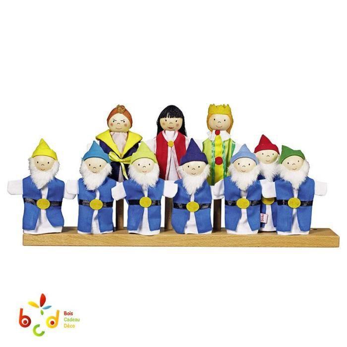 Marionnette blanche neige achat vente jeux et jouets pas chers - Jeux de blanche neige gratuit ...