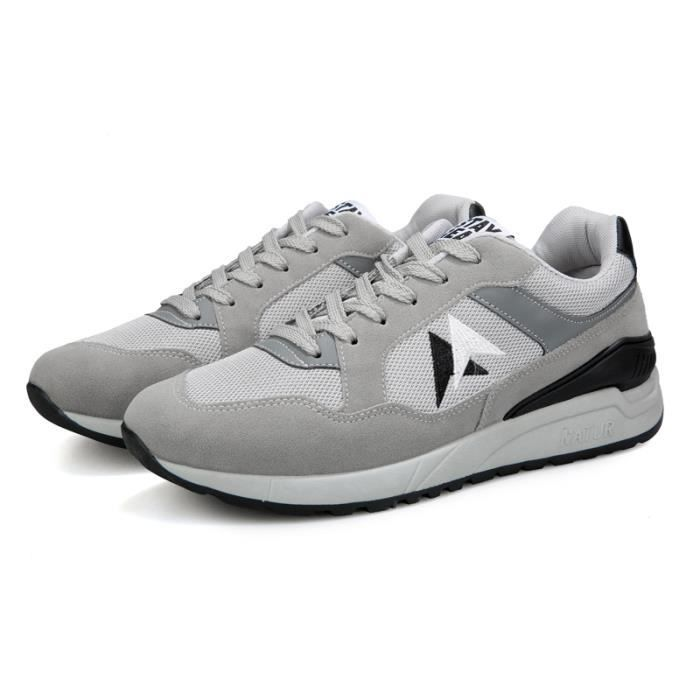 Homme Basket Course Fitness Gym Chaussures Sport - Gris DykBASv8G