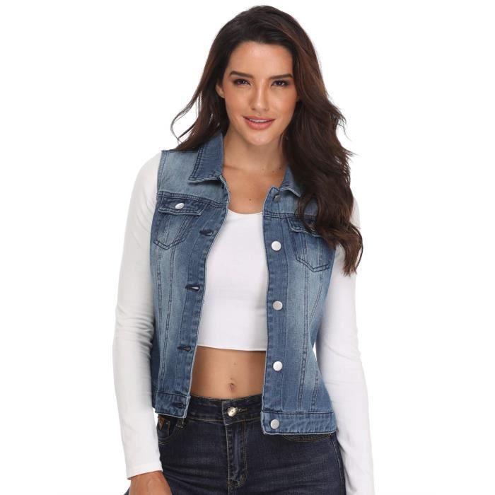 Les vestes en jean pour femme