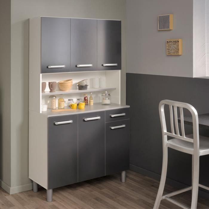 buffet cuisine bois achat vente buffet cuisine bois pas cher cdiscount. Black Bedroom Furniture Sets. Home Design Ideas