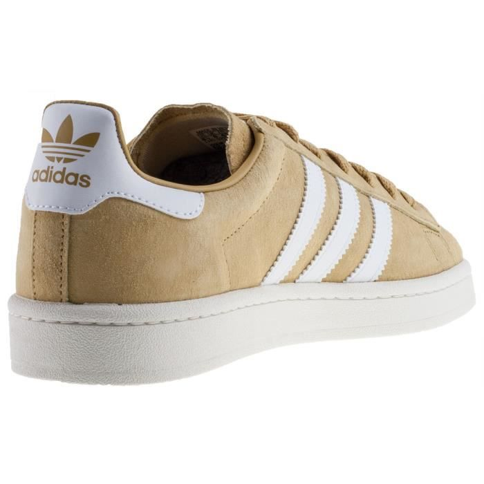 adidas Campus Hommes Baskets Moutarde - 8 UK