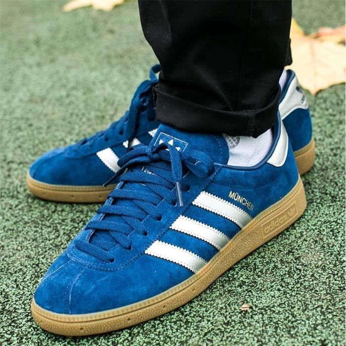 Chaussures Adidas Munchen Mystery Blue