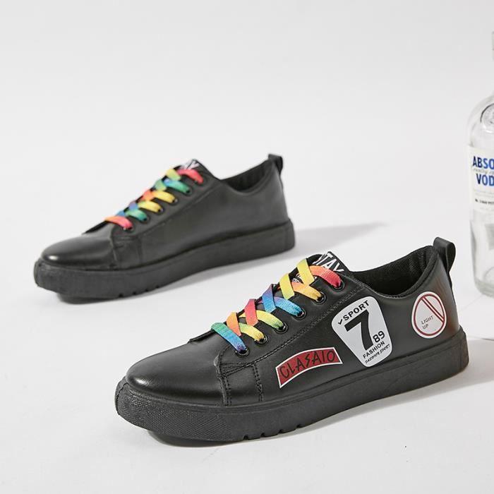 Chaussure en Noir cuir Espadrilles Run Homme Rosh Homme Basket chaussures Sandals 8Pw8rR