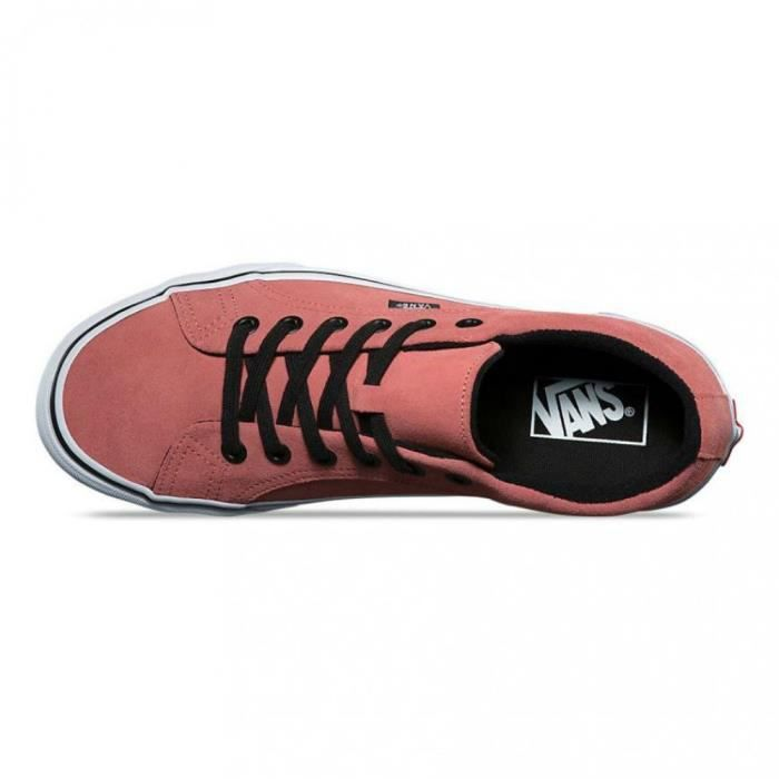 True White Lampin Homme m P3e5n Rouge Skate Faded Chaussures Rose Vans 11 Taille Suede pzMVqSUG