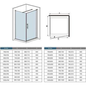 Paroi de douche 100 cm achat vente paroi de douche 100 cm pas cher cdiscount - Paroi de douche 100 ...