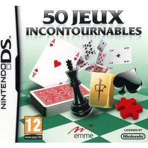JEU DS - DSI 50 JEUX INCONTOURNABLES / JEU CONSOLE NINTENDO DS