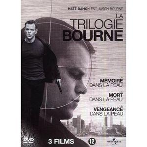 DVD FILM COFFRET TRILOGIE JASON BOURNE : La mémoire dans la