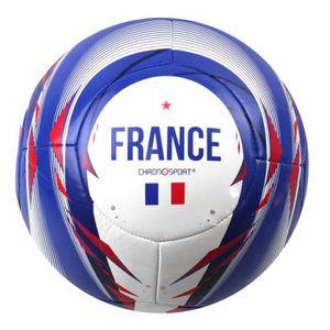BALLON DE FOOTBALL CHRONOSPORT Ballon de Foot France T5