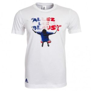 ADIDAS T-shirt Supporter Football France Homme FTL